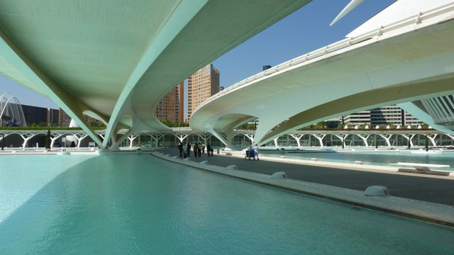 Valencia Bridges Underneath