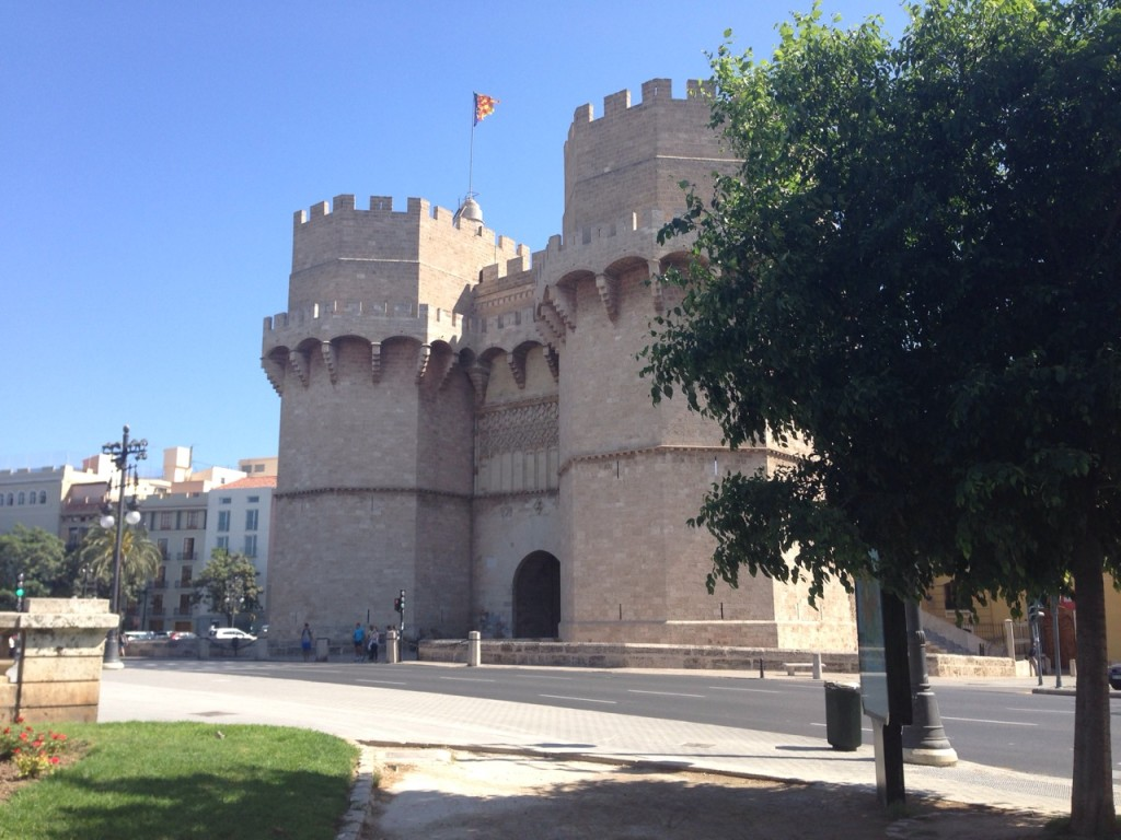 Torres Serranos the Old Gates to the City